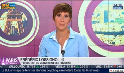 Intervention Frédéric Lossignol dans l'émission Paris est à vous sur BFM Business